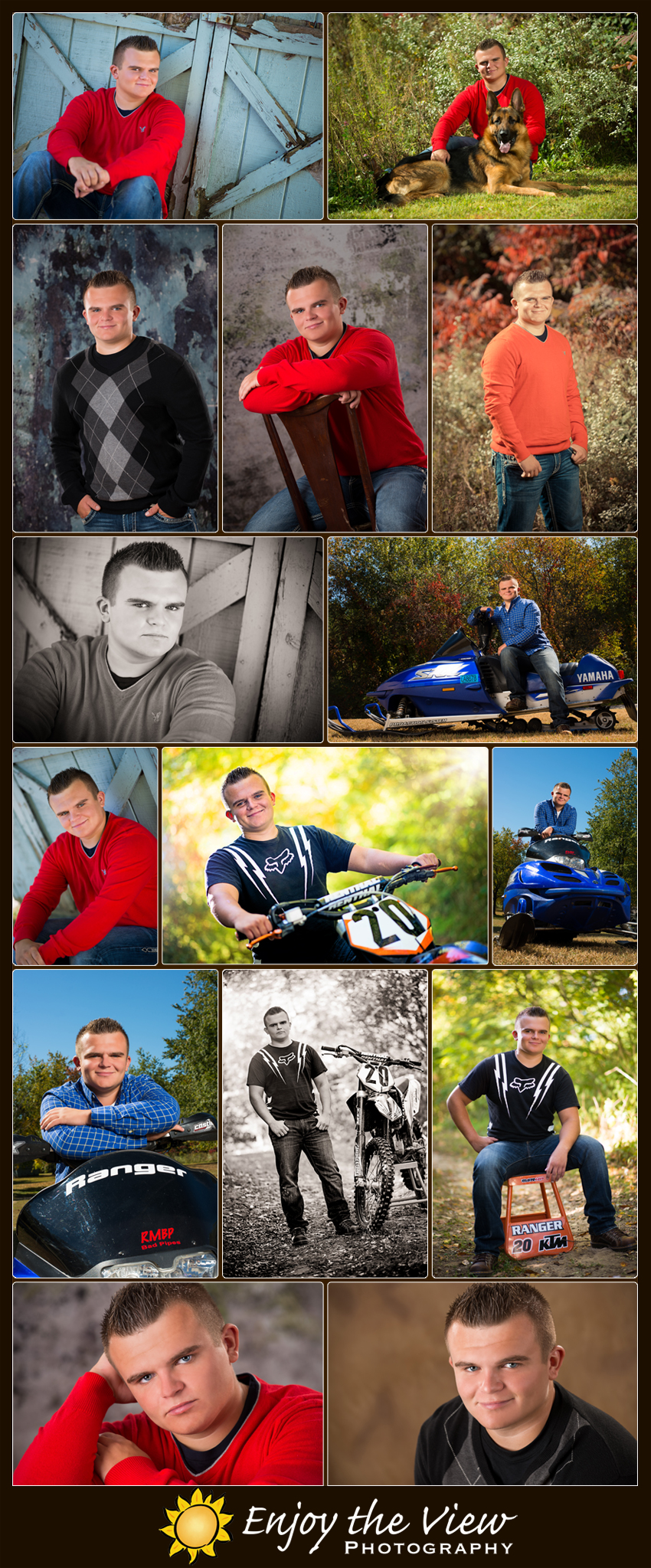 Benny, Class of 2014 {Clio Senior Photographer}