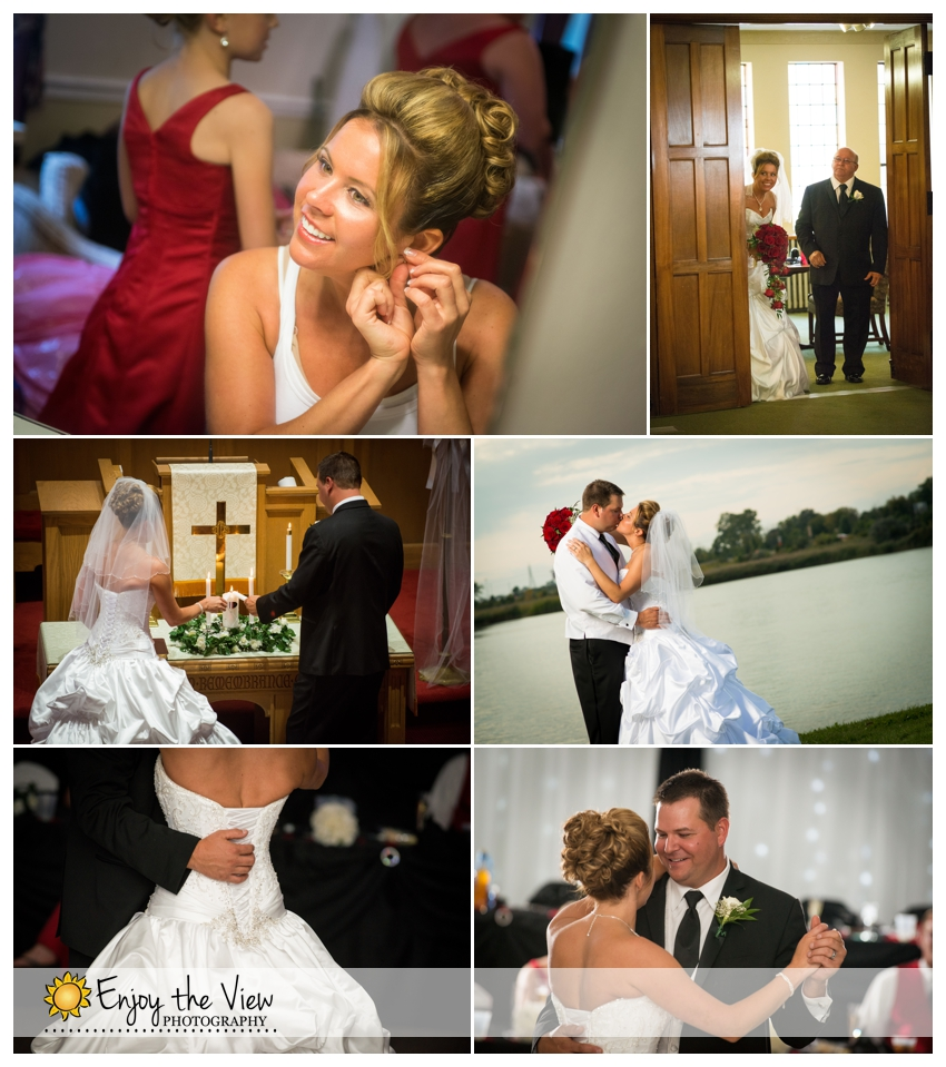 Happy Anniversary Sabrina & Scott! {Clio Wedding Photographers}