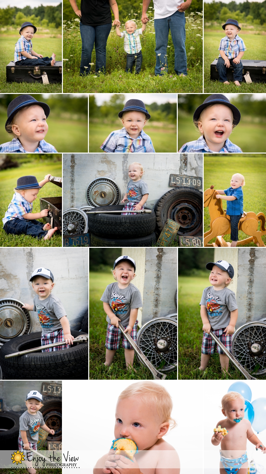 1 year old baby, 1 year session, 12 month old baby, baby, baby boy, baby portraits, baby's 1st year package, child photography, clio family photographer, Clio Family Photos, Clio Photographer, Family Photos, family portrait session, Family Portraits, family session, MI, studio in Clio, toddler photos
