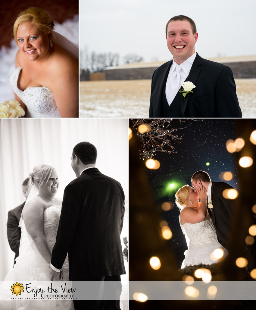 Happy Anniversary Megan & Keith! {Clio Wedding Photographers}