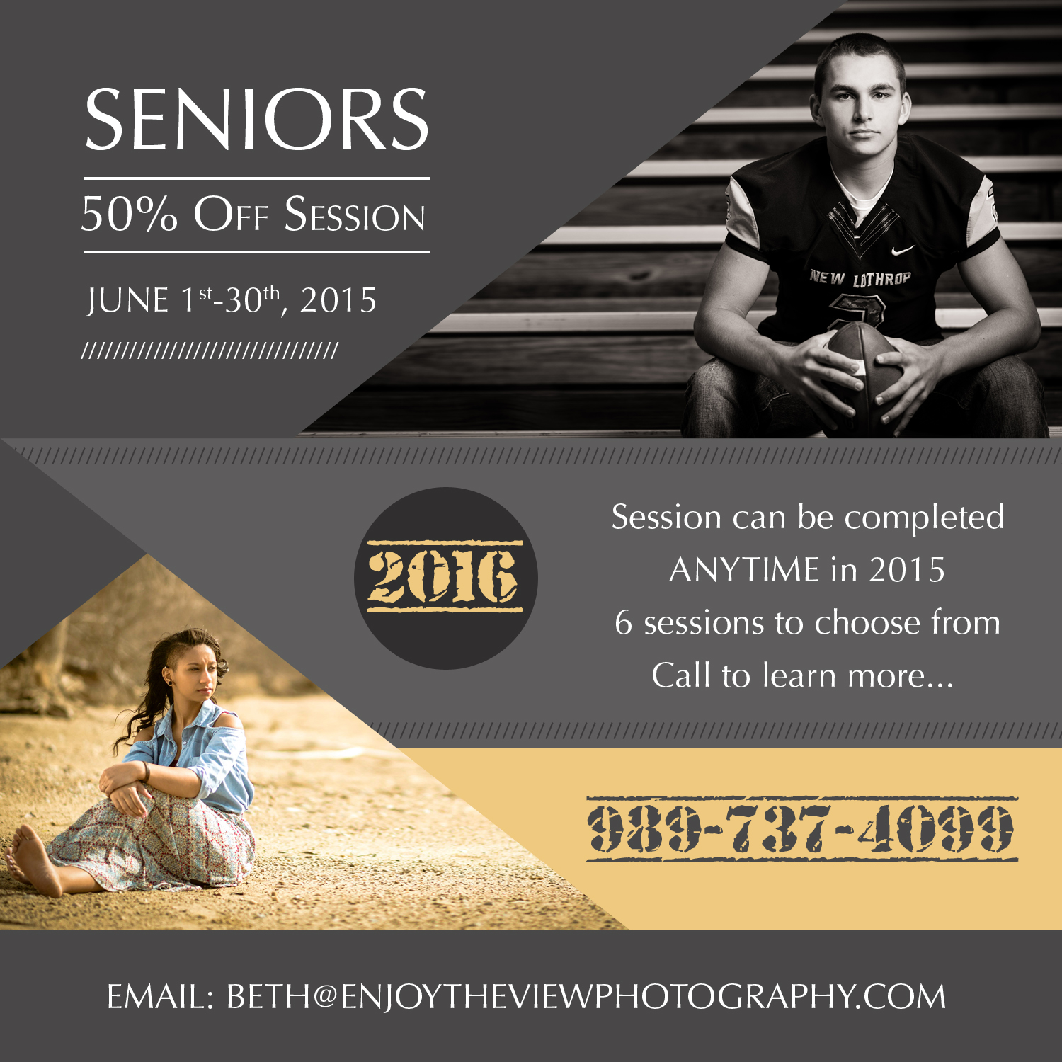 Senior Special 50% Off {Clio Senior Photographers}