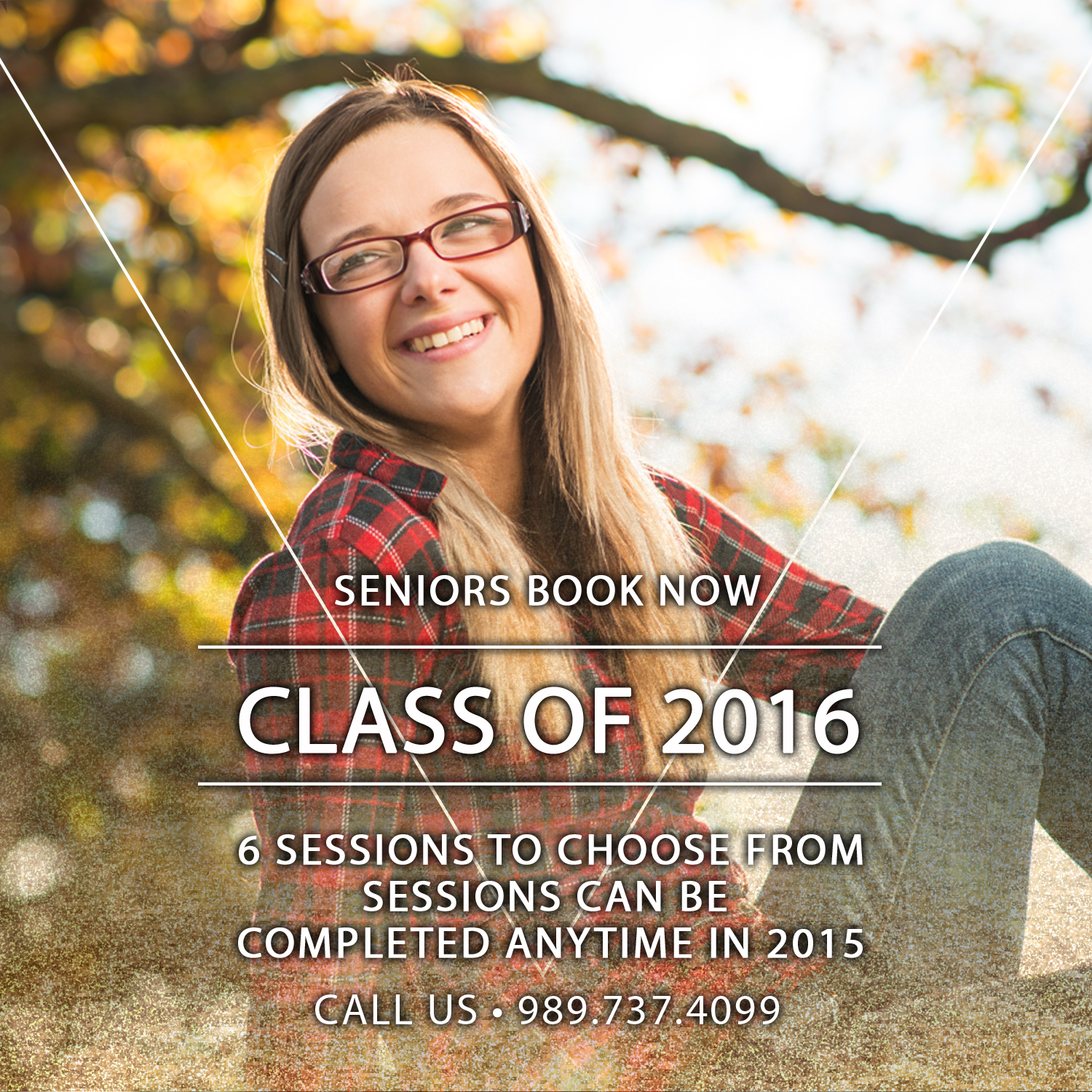 Class of 2016… 50% Off Our Sessions {Clio Senior Photographers}
