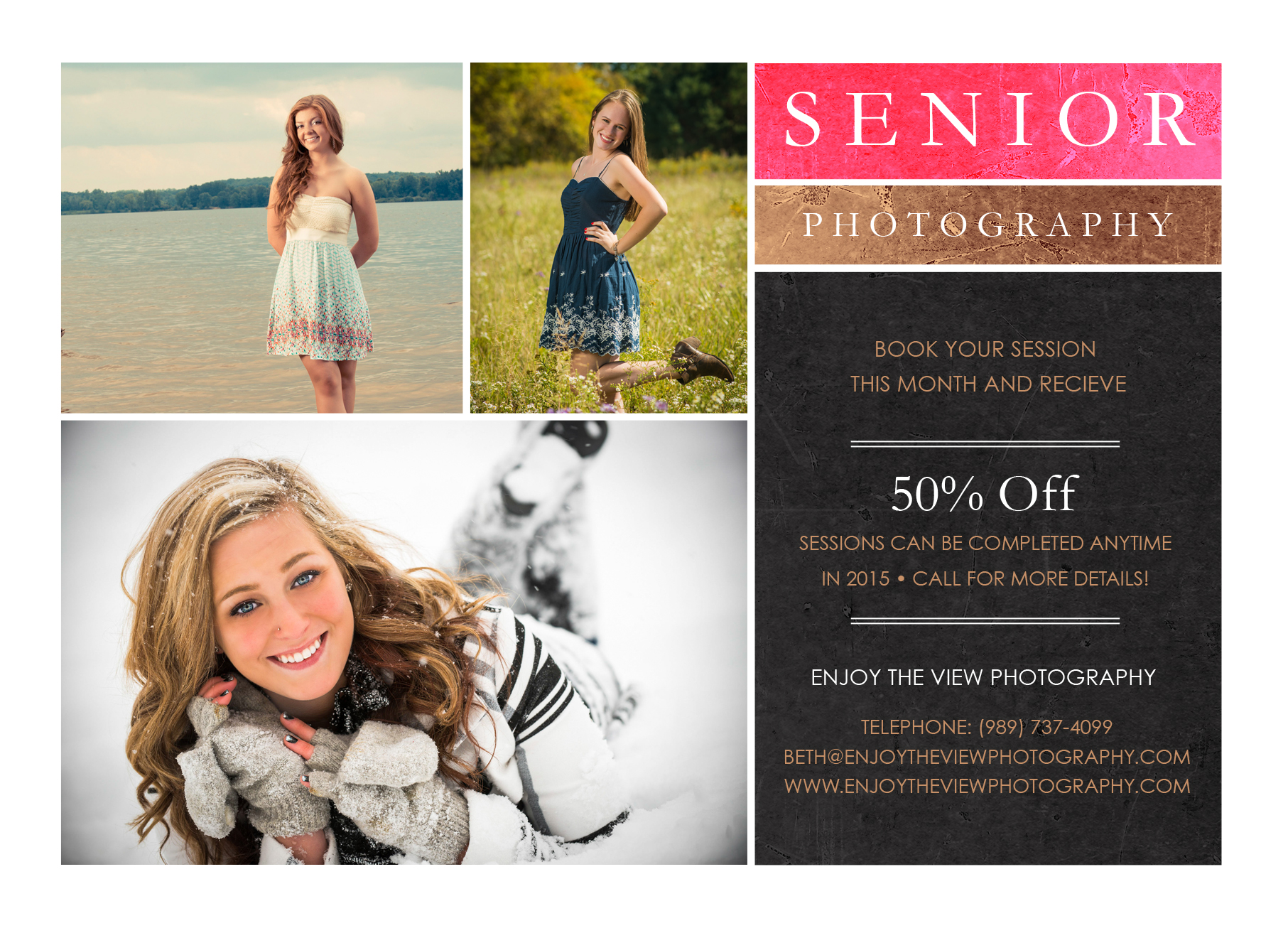 Class of 2016 Senior Special {Clio Senior Photographers}