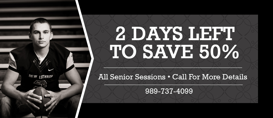 2 Days Left… Don't Miss Out Seniors! {Clio Senior Photographers}