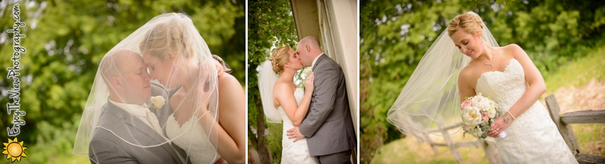 Happy 1 Year Anniversary Lauren & Justin! {Clio Wedding Photographers}