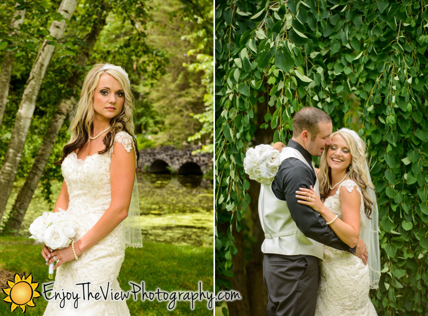 Happy Anniversary Rebecca & Rick! {Clio Wedding Photographers}