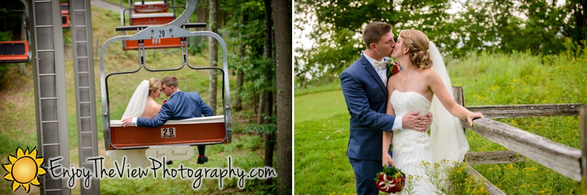 Happy Anniversary Erin & Brad! {Clio Wedding Photography}