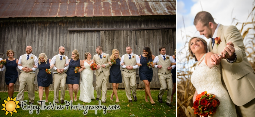 Happy Anniversary Ashlee & Marshall! {Clio Wedding Photographers}