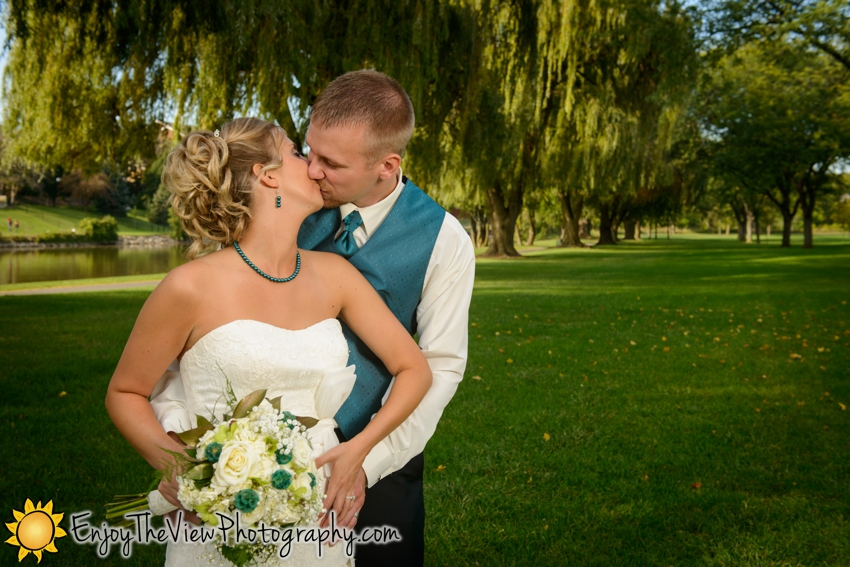 associate photographer, Beth & Mike, Beth Severn, bride & groom photos, Clio Photographer, Couple Portraits, covered bridge in Frankenmuth, Enjoy the View Photography, Frankenmuth photos, Frankenmuth United Methodist, Frankenmuth wedding, Frankenmuth Wedding Reception, fun wedding, MI, Mike Severn, Sara Parcher, studio in Clio, Sullivan's Black Forest, Sullivan's Black Forest reception, Wedding, Willow Trees in Frankenmuth MI