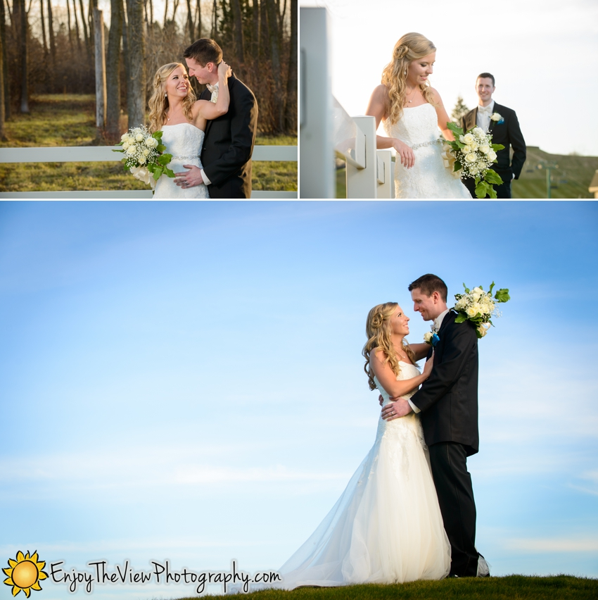 Happy Anniversary Amy & Michael! {Clio Wedding Photographers}