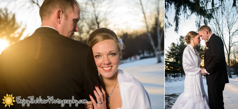 Happy Anniversary Megan & Dan! {Clio Wedding Photographers}