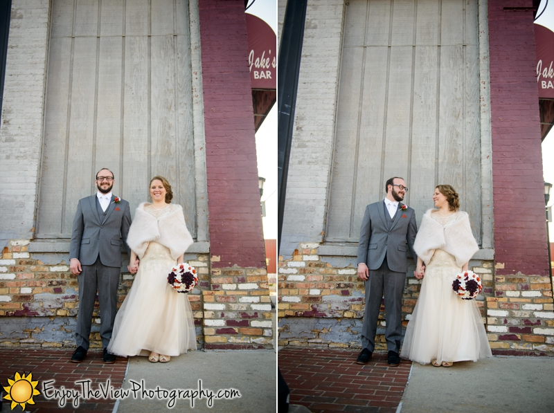 Happy Anniversary Melissa & Brandon! {Clio Wedding Photographers}