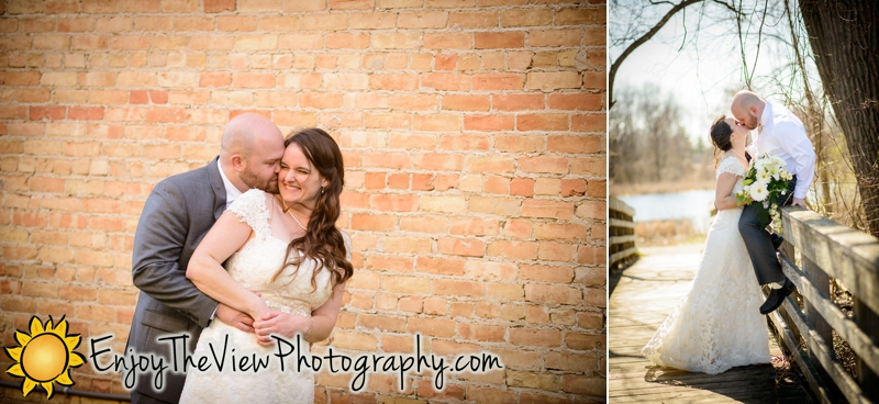 Happy Anniversary Sandy & Tyler! {Clio Wedding Photographers}
