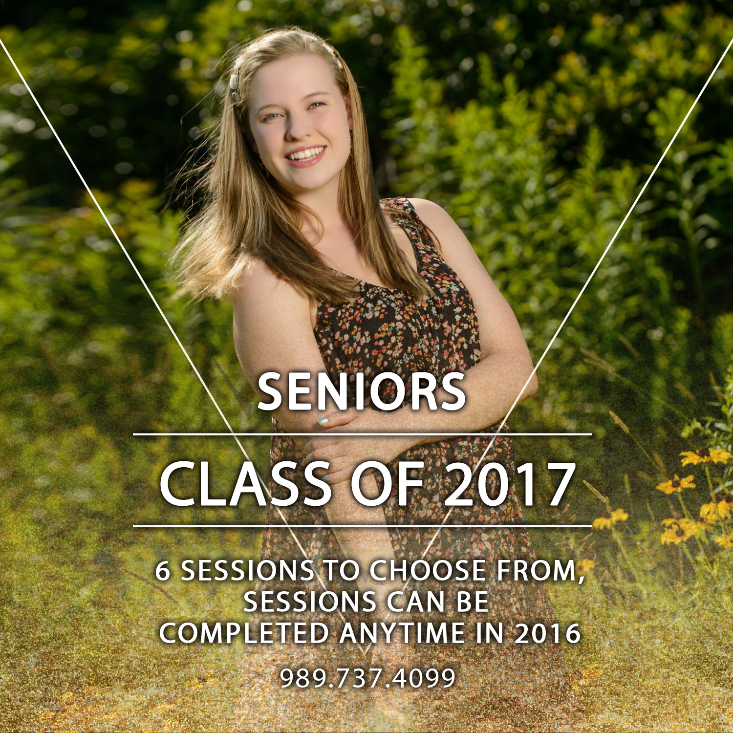 50% Off Sessions for Senior's Class of 2017… {Clio Senior Photographers}