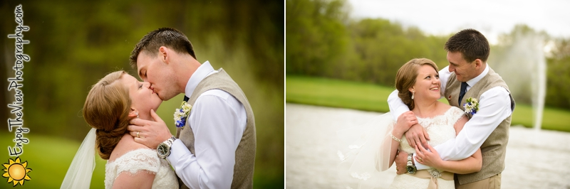 Happy Anniversary Lauren & Brent! {Clio Wedding Photographers}