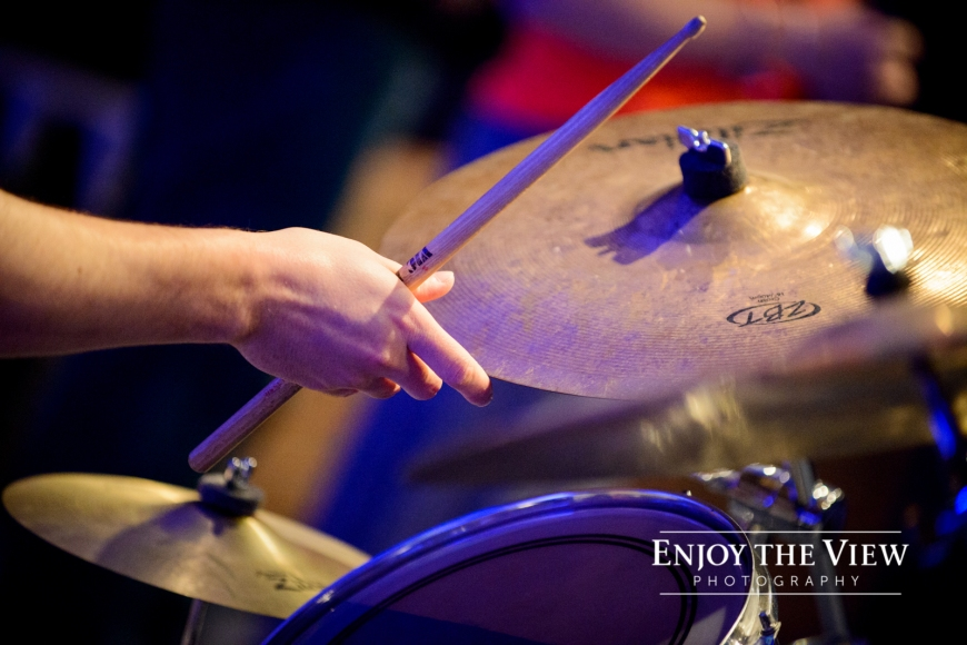 drums in worship team