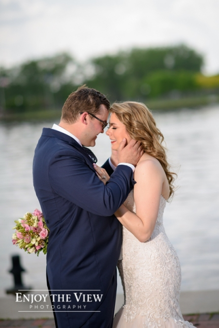 double tree bay city wedding