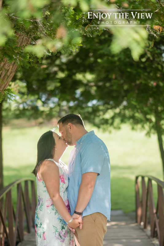 frankenmuth engagement session