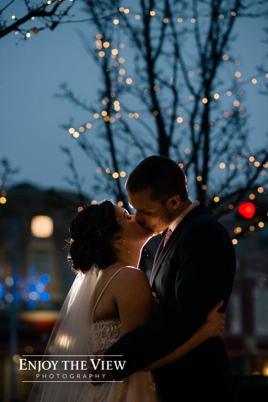 doubletree bay city wedding